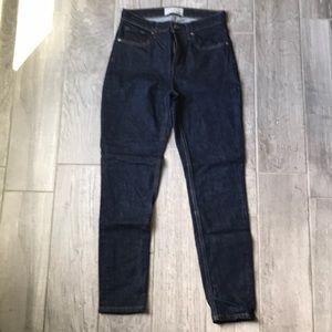 Everlane Hugh rise skinny jeans